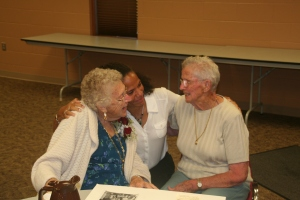 My two great aunts. Sweet as ever.  So blessed by their godly heritage.