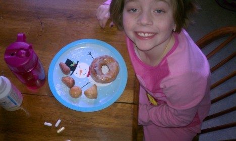 Donuts for breakfast...yummy!
