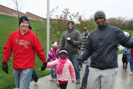 Good day for a C.O.L.D walk.