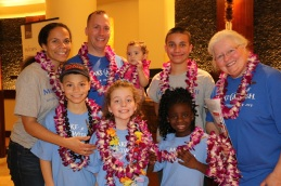 Another lei greeting at the hotel. BEAUTIFUL!