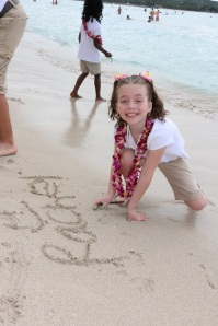 Precious picture of my sweet girl living life to the fullest!