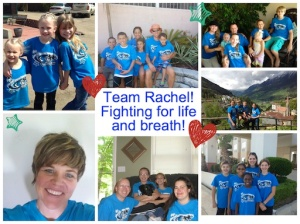 Just some of the amazing people from around the country and world that were representing Team Rachel's Raise of Hope.  BLESSED!! =)