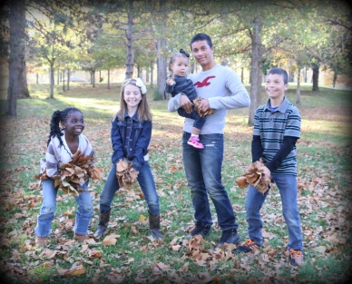 My precious five!  So thankful for each one of these miracles.